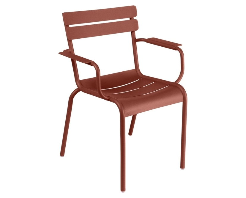 Fermob - Chaise LUXEMBOURG - 20 Ocre rouge - 1