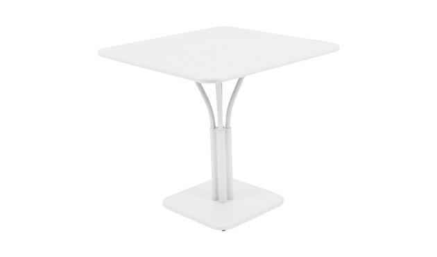 Fermob - LUXEMBOURG Tisch mit Säulenfuß - 01 Baumwollweiss matt - 2