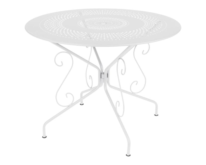 Fermob - MONTMARTRE Tisch Ø 96 cm - 01 Baumwolle - 3