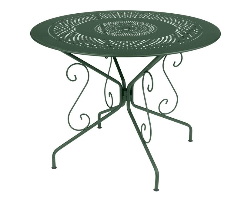 Fermob - MONTMARTRE Tisch Ø 96 cm - 02 Zederngrün - 3