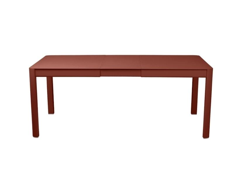 Fermob - Ribambelle Tisch mit 1 Einlegeplatte - 20 Ockerrot - 1