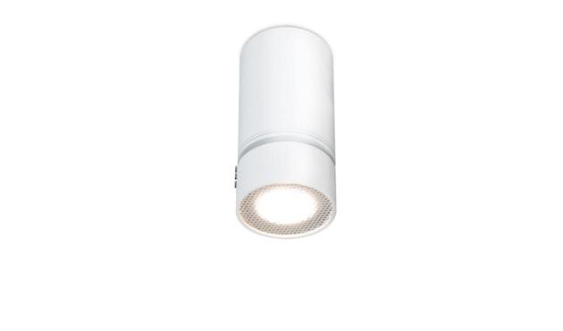 Mawa Design - Fernglas Aufbaustrahler - weiß matt RAL 9016 - Halogen - 1 Strahler - 1