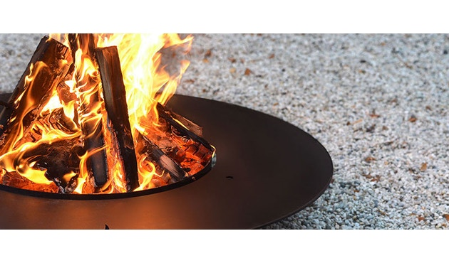 Radius - Fireplate barbecuerooster - L Ø 100 cm - 6