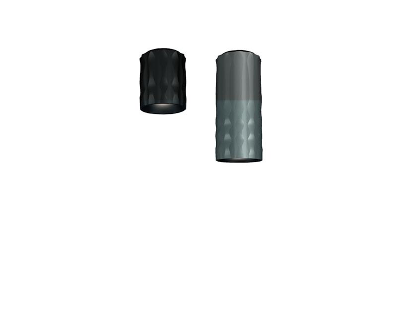 Artemide - Fiamma Deckenleuchte - grau - 16 cm - 1