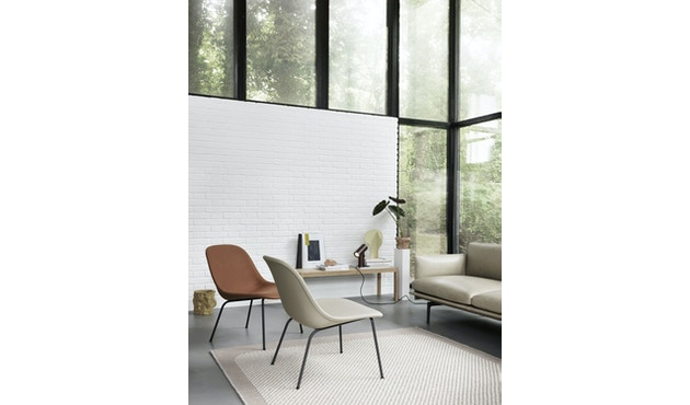 Muuto - Pebble Rug Teppich - 200 x 300 - Dark Grey - 2