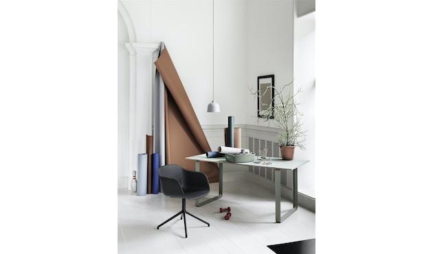 Muuto - Fiber Armlehnstuhl - Drehfuß - 5