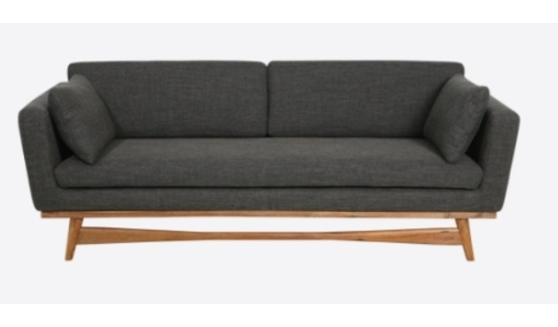 red edition - Fifties 210 Sofa - Anthracite T01 - 1