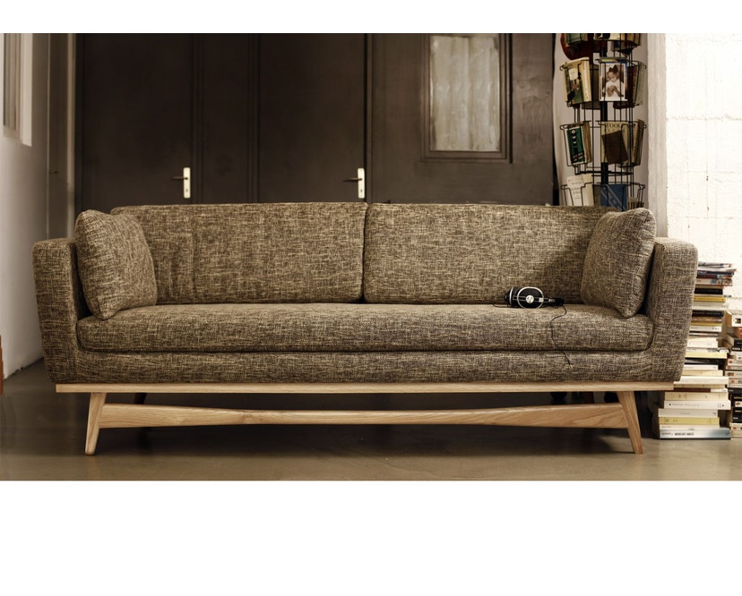 red edition - Fifties 210 Sofa - Anthracite T01 - 5