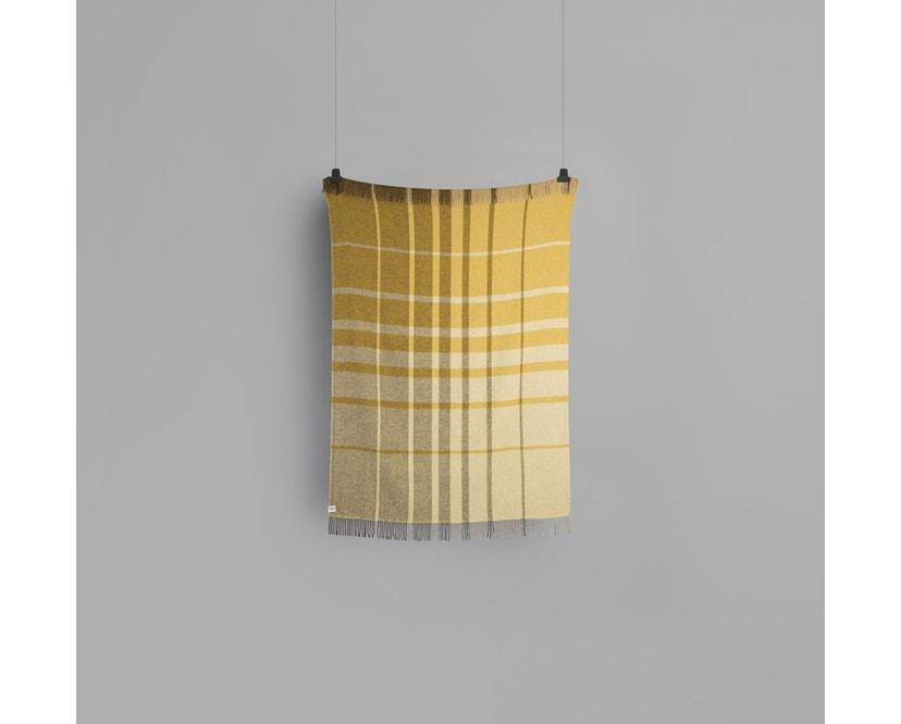 Roros Tweed - Filos Decke - yellow  - 2