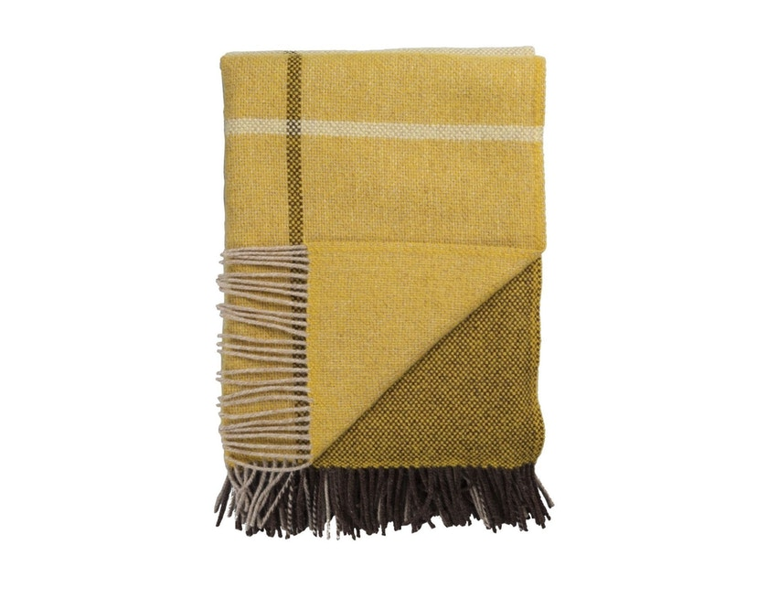 Roros Tweed - Filos Decke - yellow  - 1