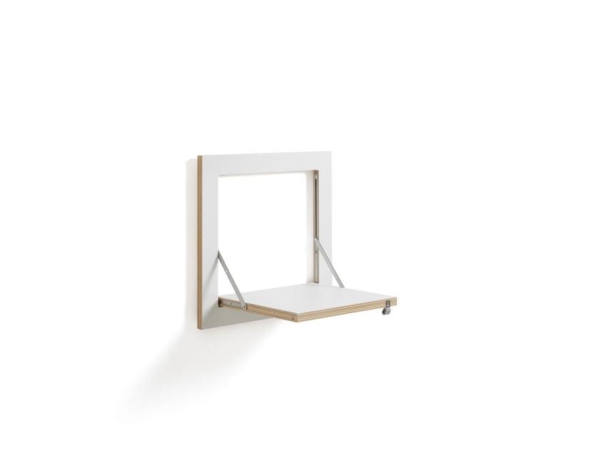 Ambivalenz - Fläpps Regal 40x40x1 - weiß - 2