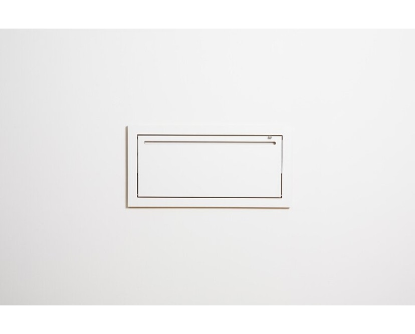 Ambivalenz - Fläpps Kleiderstange Hängrail - weiß - 1