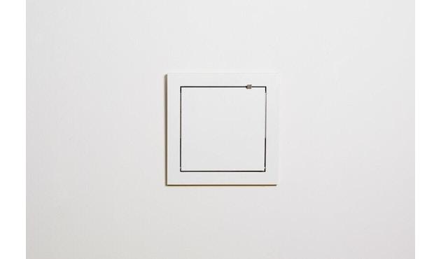 Ambivalenz - Fläpps Regal 40x40x1 - weiß - 3