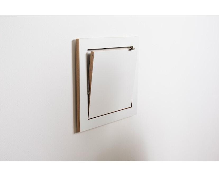 Ambivalenz - Fläpps Regal 40x40x1 - weiß - 5