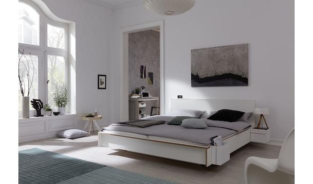 Müller Möbelwerkstätten - Flai Bett - CPL weiß - 140 x 200 - 8