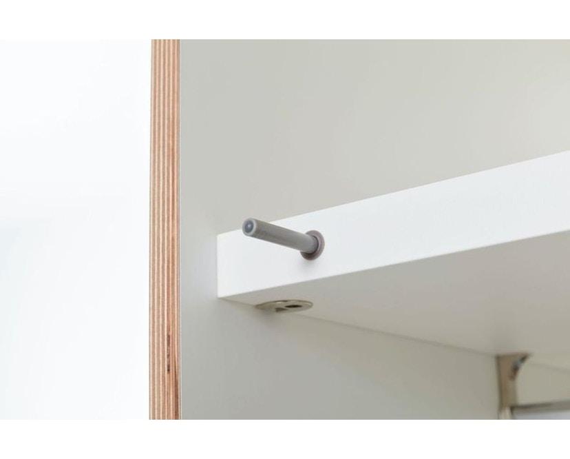 Flai Kleiderschrank Außenschubkästen mit 2-Türen
