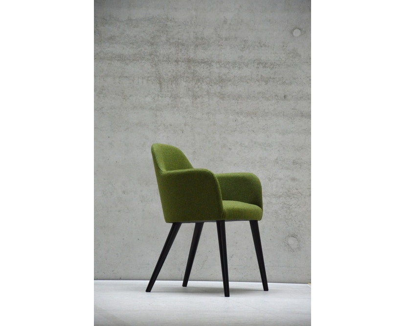 Jan Kurtz - Flaminia Sessel - grün - Buche - 2