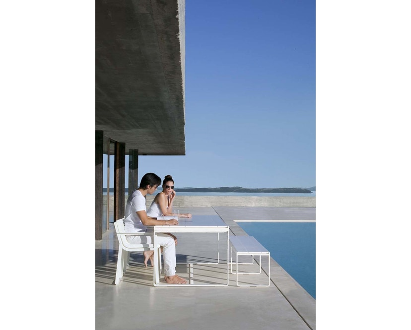 Gandia Blasco - Flat hoher Tisch M - weiß - 3