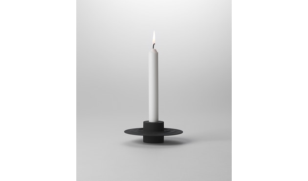Design House Stockholm - Flip kaars- en theelichthouder - zwart - 2
