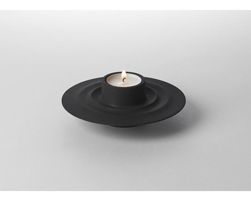 Design House Stockholm - Flip kaars- en theelichthouder - zwart - 3