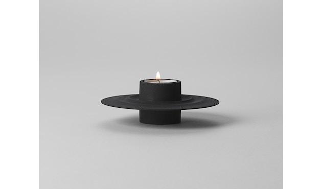 Design House Stockholm - Flip kaars- en theelichthouder - zwart - 5