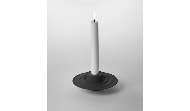 Design House Stockholm - Flip kaars- en theelichthouder - zwart - 1