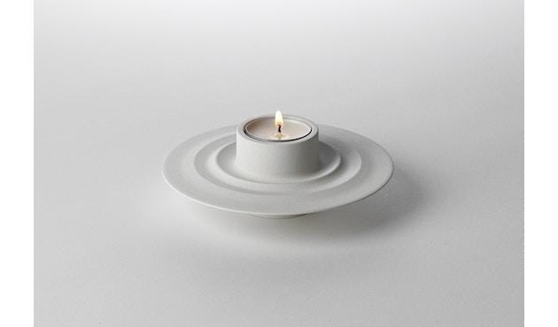 Design House Stockholm - Flip Kerzen- und Teelichthalter - weiß - 3