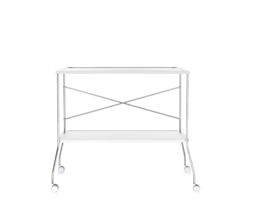 Kartell - Flip Servierwagen - weiß - 8