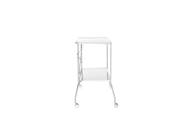 Kartell - Flip Servierwagen - weiß - 7
