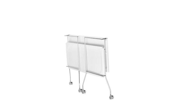 Kartell - Flip Servierwagen - weiß - 9