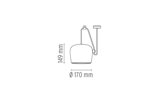 Flos - AIM Pendelleuchte Small - bianco - 5