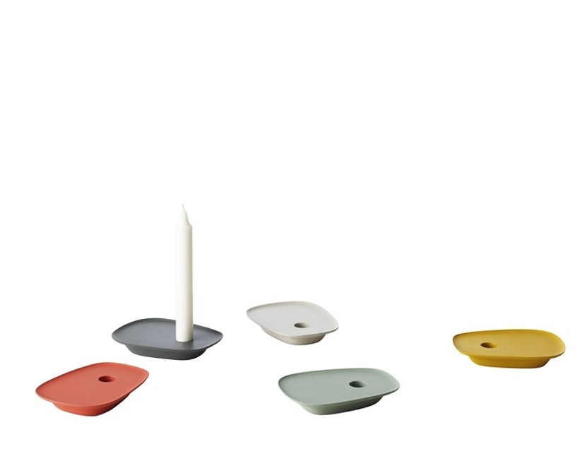Muuto - Float kandelaar - geel - 4