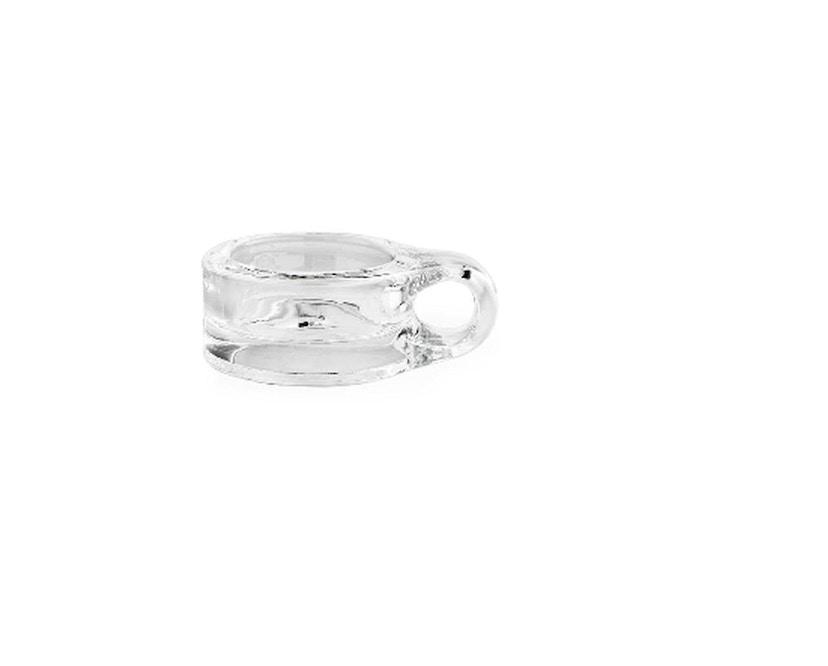 Normann Copenhagen - Floe Teelichthalter - transparent - 1