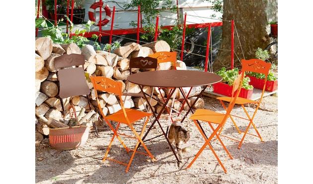 Fermob - FLOREAL Tisch - 01 Baumwollweiss matt - Ø 60 cm - 5