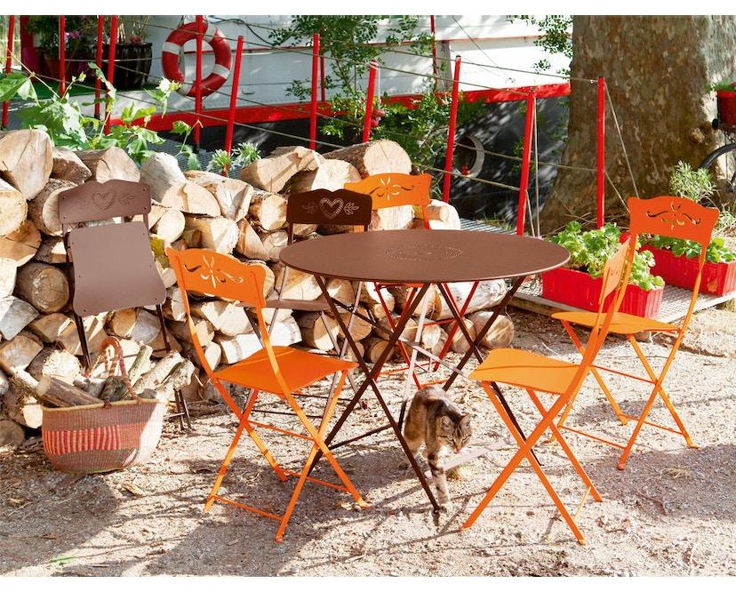 Fermob - FLOREAL tafel - Ø 60 cm - 01 katoenwit mat - 5