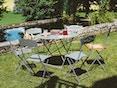Fermob - FLOREAL tafel - Ø 96 cm - 02 cedergroen mat - 4
