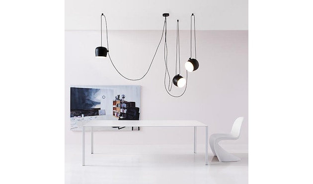 Flos - AIM pendellamp Cable + PLug - zwart - 3