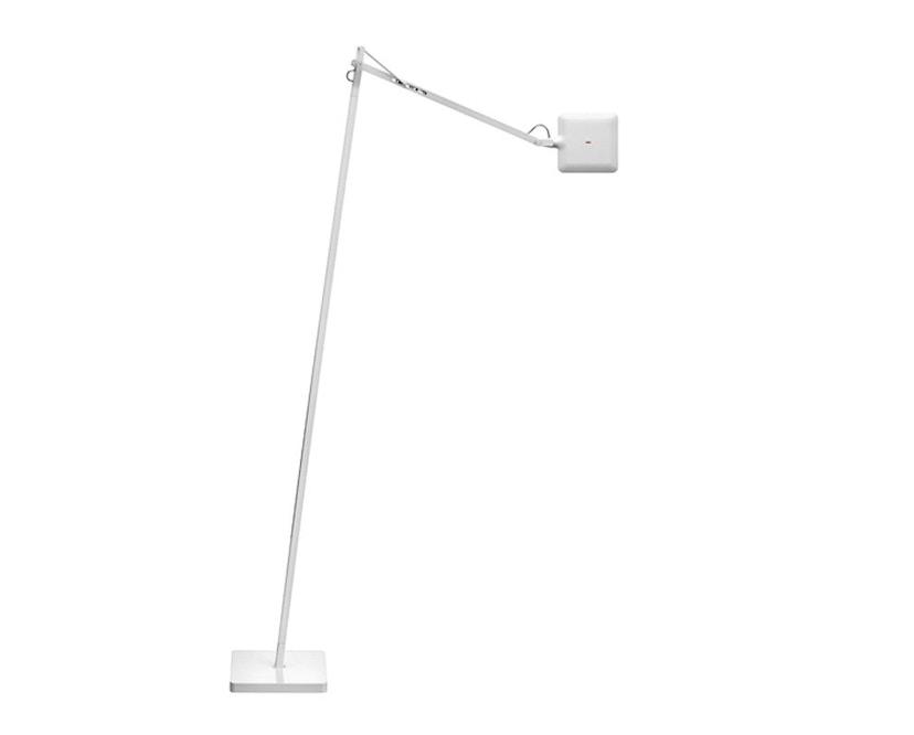 Flos - Kelvin LED F Stehleuchte - weiß glänzend - 1