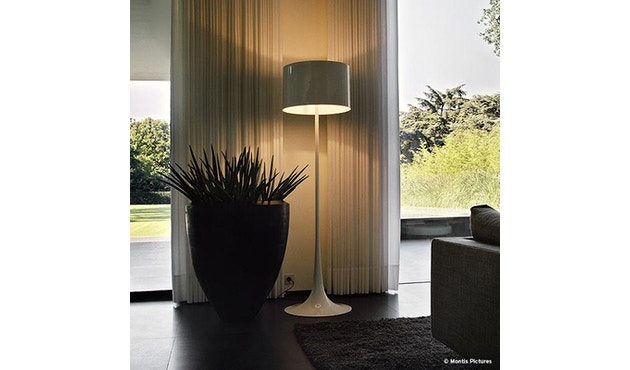Flos - Spun Light F - wit glanzend - 7
