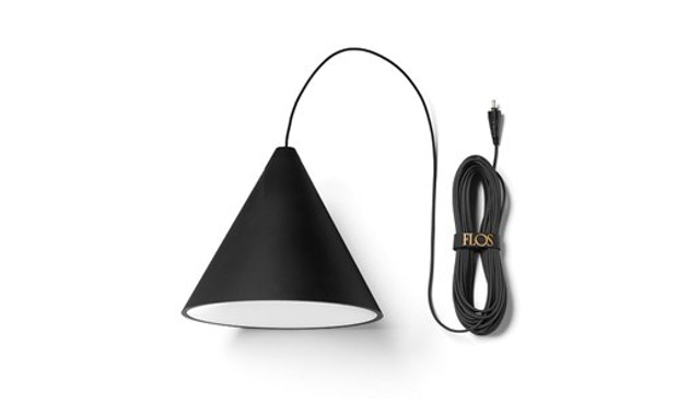 Flos - String Light Pendelleuchte Cone Head - 12 m - 1