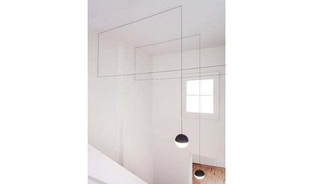 Flos - String Light Pendelleuchte Sphere Head - 12 m - 2