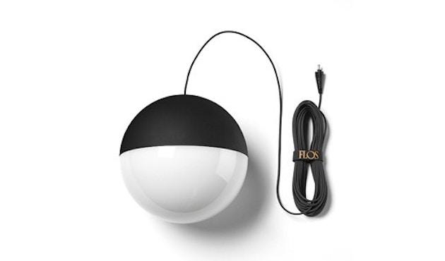 Flos - String Light Pendelleuchte Sphere Head - 12 m - 1