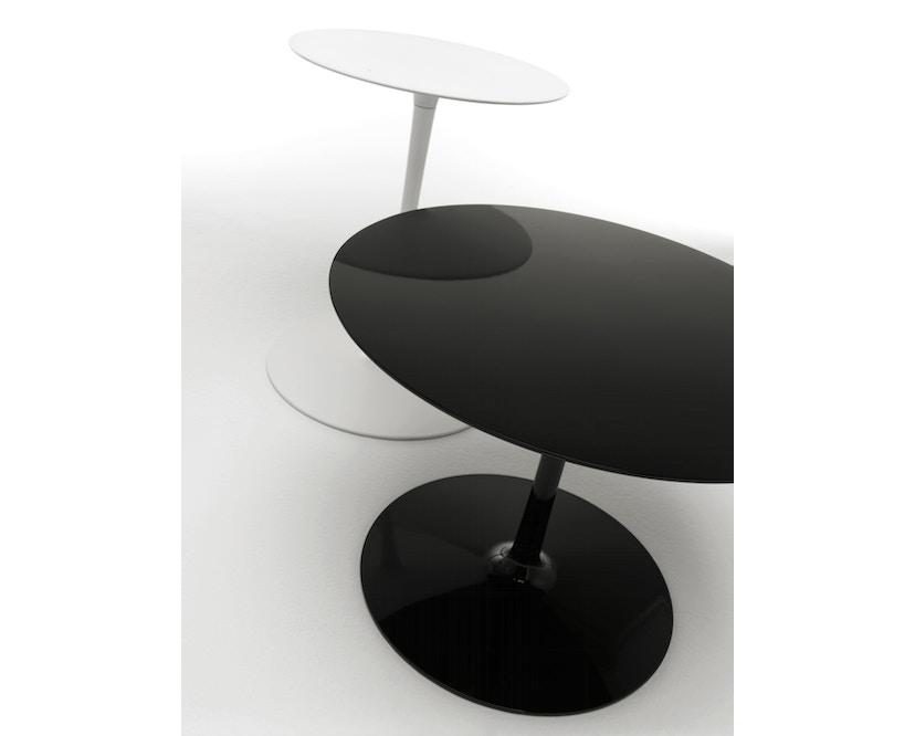 MDF Italia - Flow Low Tisch - cristal plant weiß - Ø 44 cm, hoch - 5