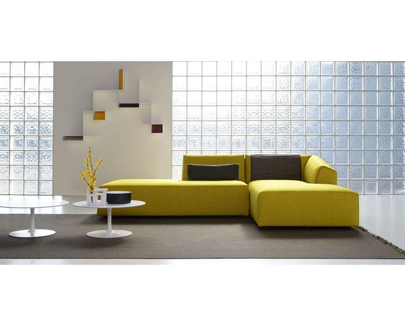 MDF Italia - Flow Low tafel - Ø 44 cm, hoog - mat wit - 6