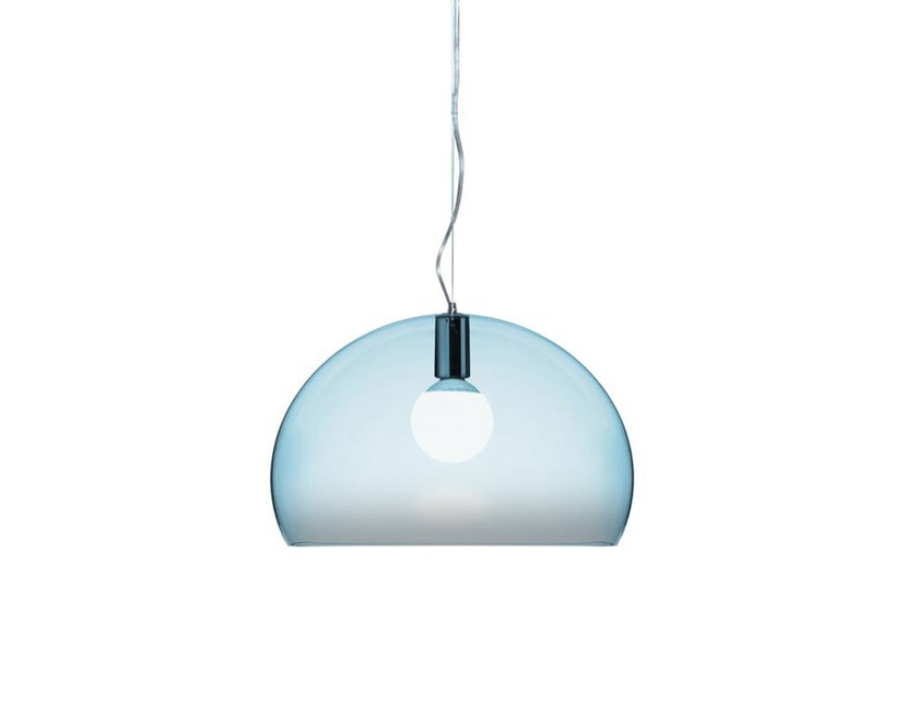 Kartell - FL/Y hanglamp - hemelsblauw - 1