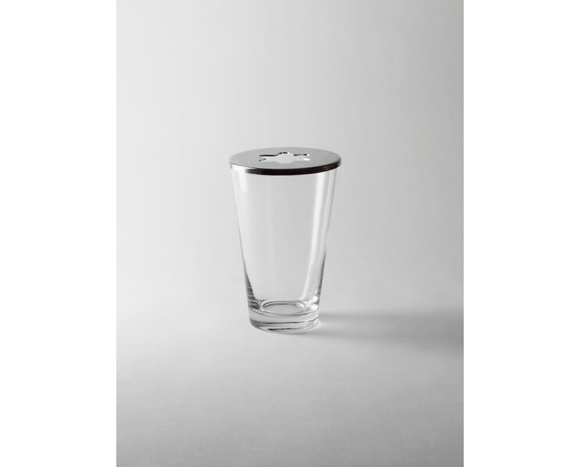 Design House Stockholm - Focus Vase - Chromdeckel - 1