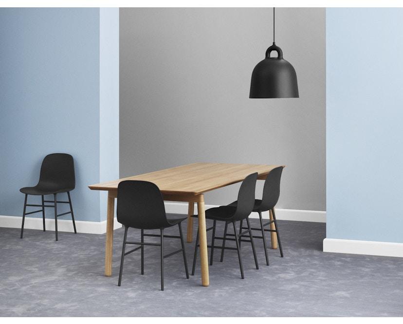 Normann Copenhagen - Form stoel met metalen frame - 2