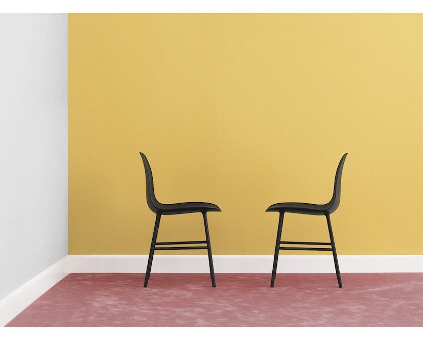 Normann Copenhagen - Form stoel met metalen frame - 3