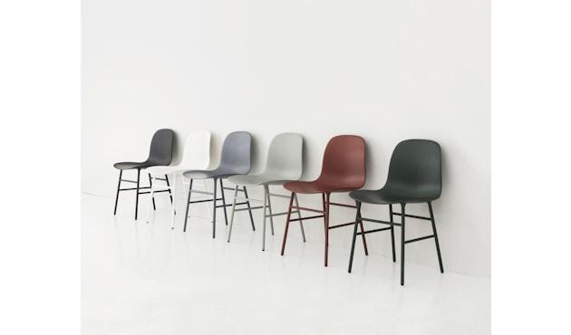 Normann Copenhagen - Form stoel met metalen frame - 4