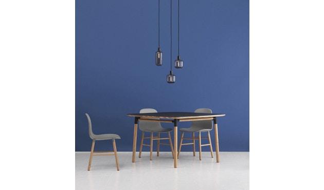 Normann Copenhagen - Form stoel met metalen frame - zwart - 6